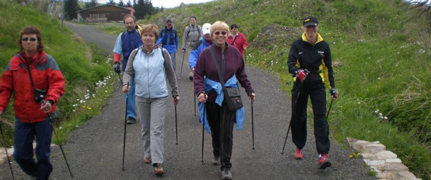 Přímo na Božím Daru sídlí Nordic walking centrum