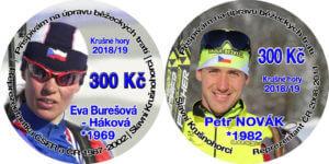 """Petr Novák a Eva Háková tvářemi letošních """"placek"""""""